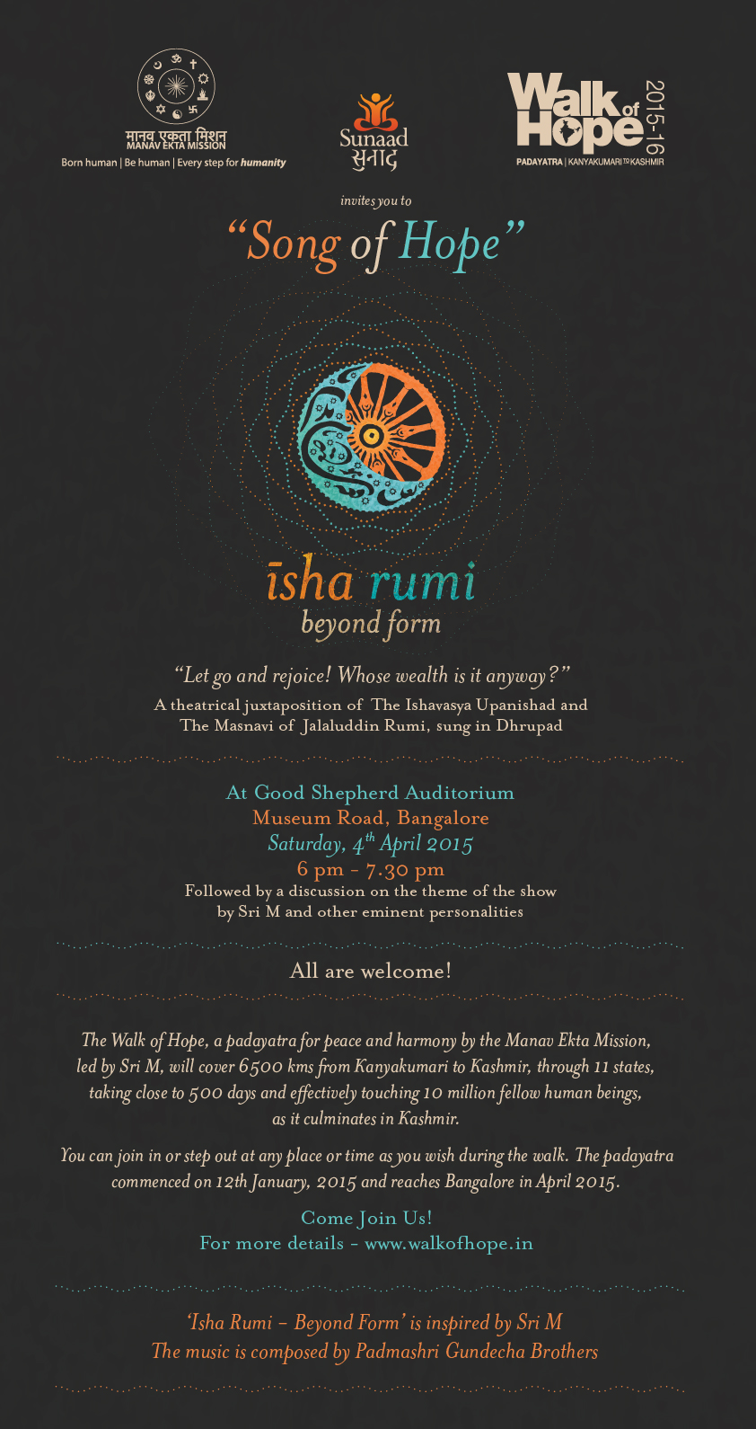Song of Hope: Isha Rumi, Beyond Form